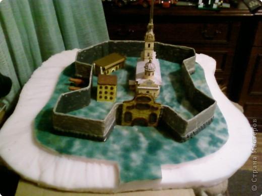 Макет петропавловской крепости