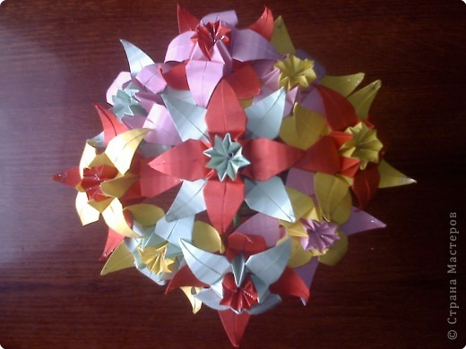 Бумагопластика: Цветы фото 2