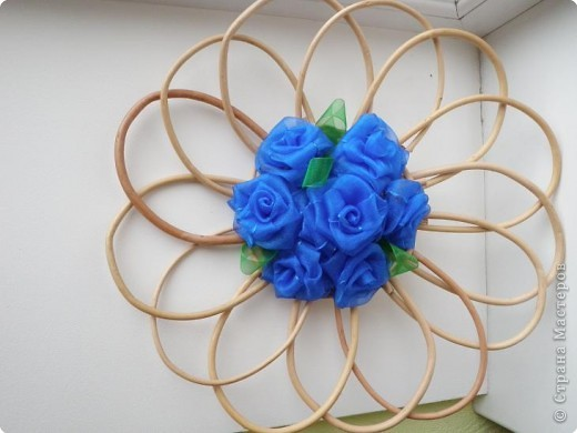 Шитьё: Синие розы