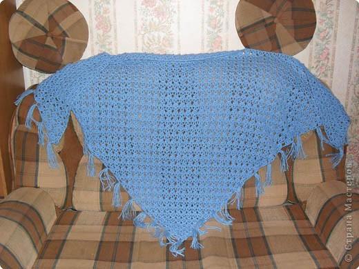 Вязание крючком: Шаль