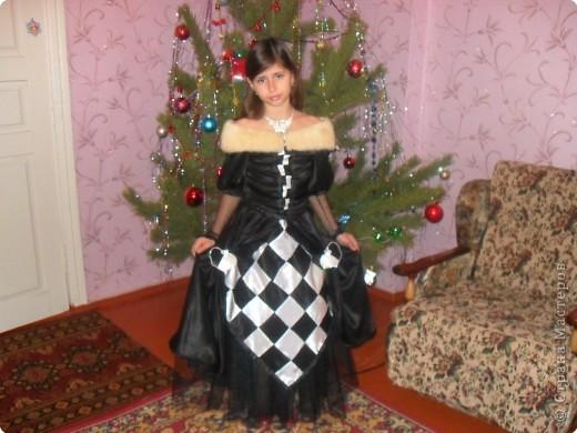 "Шитьё: Костюм ""Шахматная королева"" фото 2"