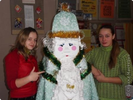 Дед Мороз - интерьерная кукла фото 4
