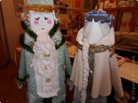 Дед Мороз - интерьерная кукла фото 5