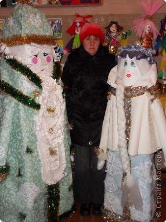 Дед Мороз - интерьерная кукла фото 6