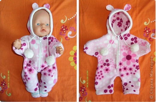 Комбинезоны для кукол беби бон своими руками