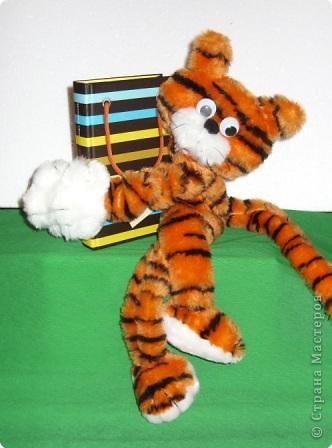 Шитьё: Тигрёнок-обнимашка фото 1