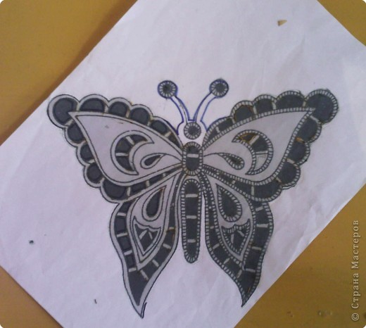 бабочки Ткань фото 2