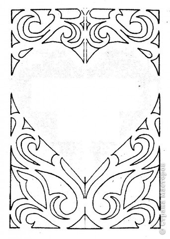 Вырезание симметричное: Валентинки фото 4