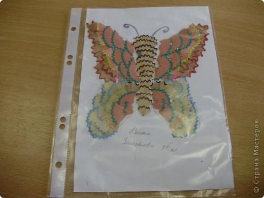 Бабочка ученицы 3 класса