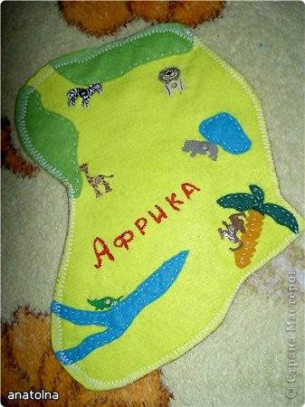 """Игрушка-шнуровка """"Африка"""" фото 2"""