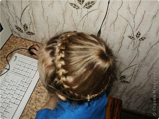 """Плетение: Косичка. """" Корзинка""""  фото 5"""