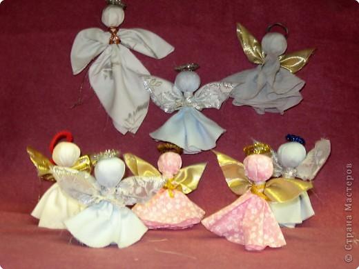 Рождественские ангелы.