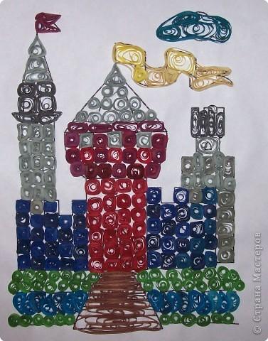 Квиллинг: Сказочный замок! фото 1