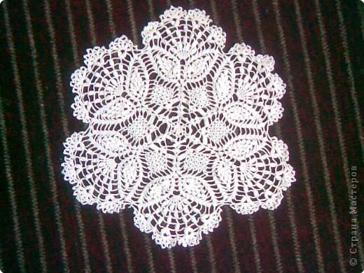 Вязание крючком: Салфетки фото 1