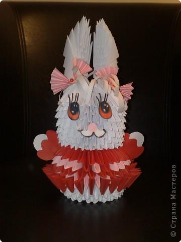 Оригами модульное: подружка-толстушка