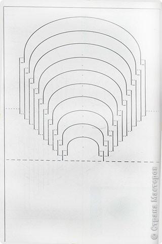 Бумажный туннель Киригами