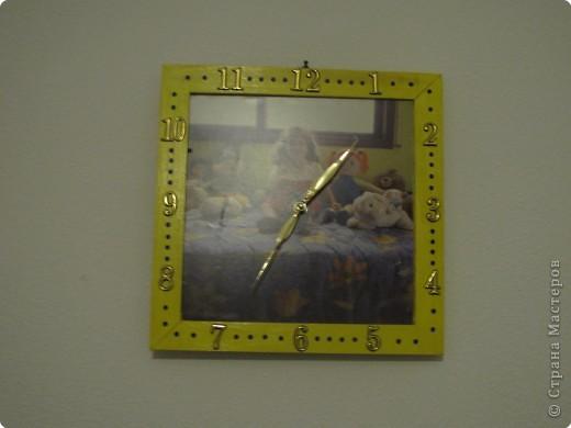 часы с фото-ей дочки на день рождение