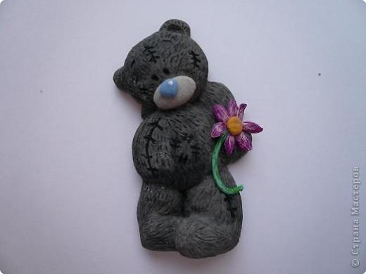 Медведь из соленого теста своими руками 22