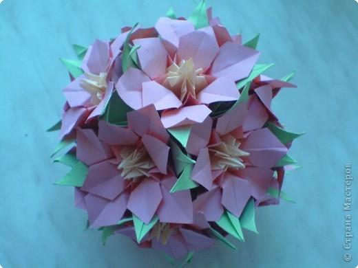 Кусудама: Еще цветочки фото 1