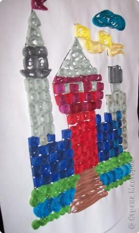 Квиллинг: Сказочный замок! фото 3