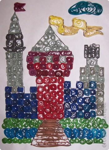 Квиллинг: Сказочный замок! фото 2