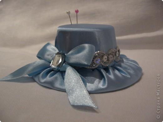 Шитьё: Шляпка-игольница