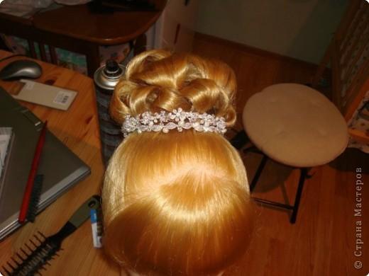 свадебная причёска, для сестры. фото 1