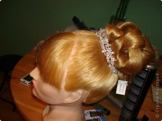 свадебная причёска, для сестры. фото 2