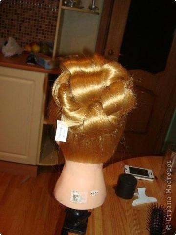 свадебная причёска, для сестры. фото 3