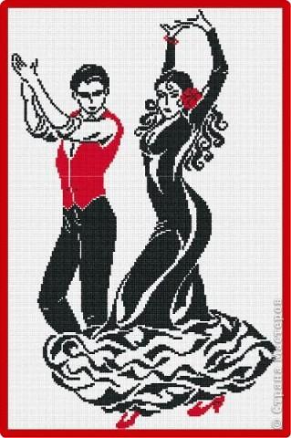 Набор для вышивания Танец страсти, М.П. Студия НВ-97 купить в санкт петербурге Шале, Aida 14, Счетный крест.