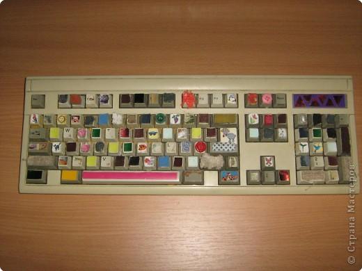 Сенсорная клавиатура. Развивает пальчики, знакомит с цветом, формой, величиной. фото 2