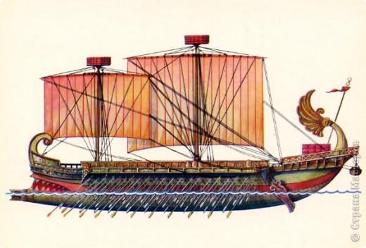 корабли древнего мира фото
