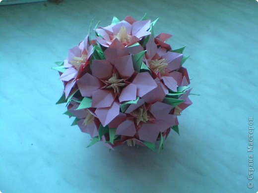 Кусудама: Еще цветочки фото 2