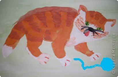 Этого Рыжика рисовала я. Я не художник, я только учусь вместе со своими ребятами. фото 3