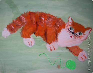 Этого Рыжика рисовала я. Я не художник, я только учусь вместе со своими ребятами. фото 6