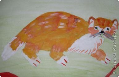 Этого Рыжика рисовала я. Я не художник, я только учусь вместе со своими ребятами. фото 7