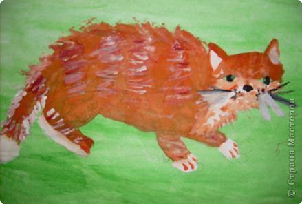 Этого Рыжика рисовала я. Я не художник, я только учусь вместе со своими ребятами. фото 8
