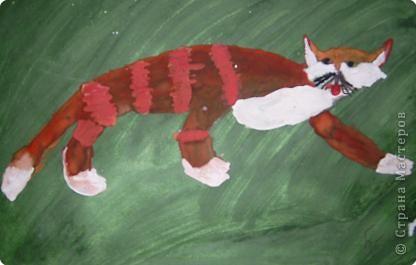 Этого Рыжика рисовала я. Я не художник, я только учусь вместе со своими ребятами. фото 9