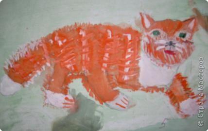 Этого Рыжика рисовала я. Я не художник, я только учусь вместе со своими ребятами. фото 10