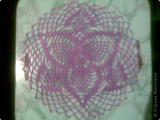 Вязание крючком: Салфетки фото 2