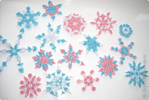 Новый год Квиллинг снежинки