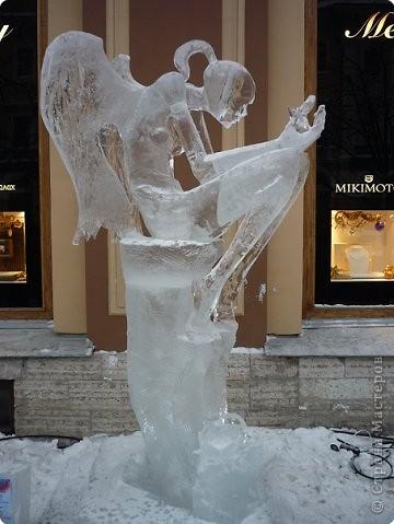 Ледяные скульптуры в СПб фото 1
