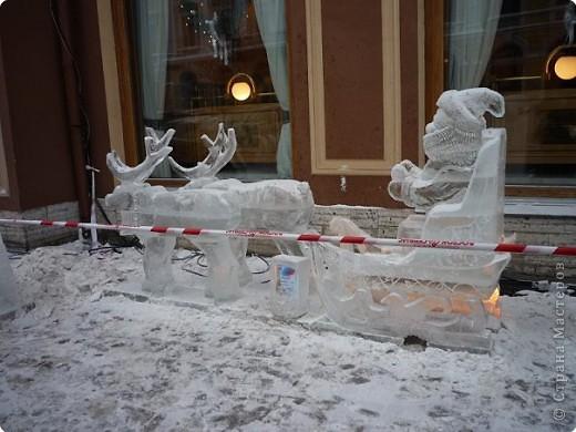 Ледяные скульптуры в СПб фото 10