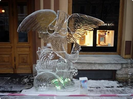 Ледяные скульптуры в СПб фото 8