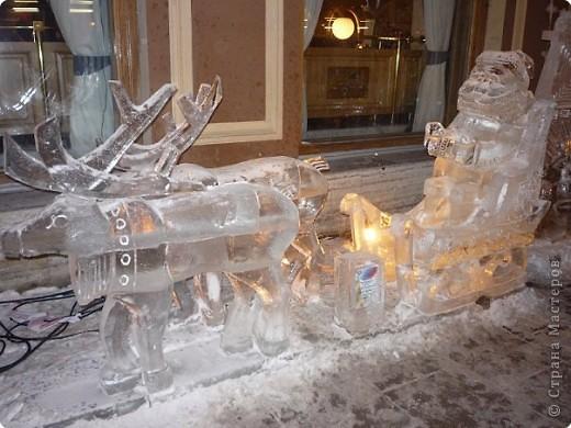 Ледяные скульптуры в СПб фото 11