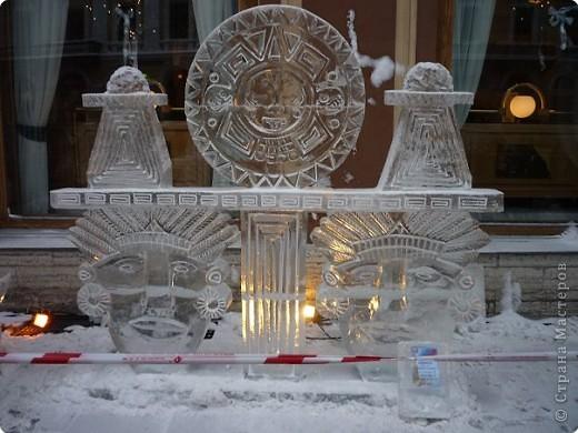 Ледяные скульптуры в СПб фото 2