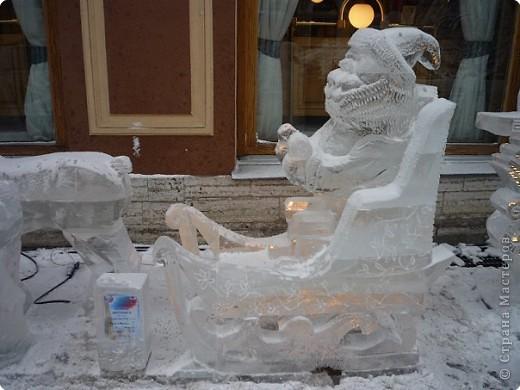 Ледяные скульптуры в СПб фото 12