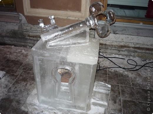 Ледяные скульптуры в СПб фото 5