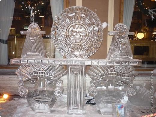 Ледяные скульптуры в СПб фото 3