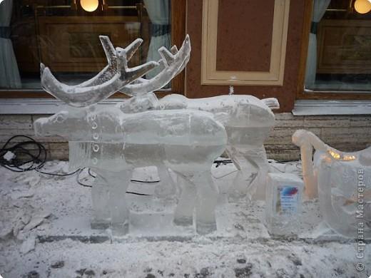 Ледяные скульптуры в СПб фото 13